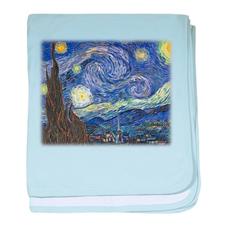 Vincent van Gogh, Starry Night baby blanket