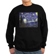 Vincent van Gogh, Starry Night Sweatshirt