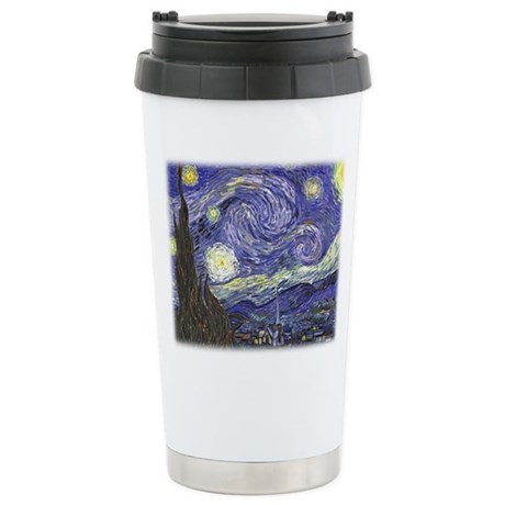 Vincent van Gogh, Starry Night Stainless Steel Tra
