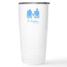 Be Happy Travel Mug