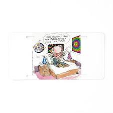 Pat Robertson Marijuana Aluminum License Plate