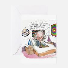 Pat Robertson Marijuana Greeting Card