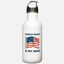 marco rubio is my hero.png Water Bottle