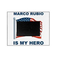 marco rubio is my hero.png Picture Frame