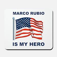 marco rubio is my hero.png Mousepad