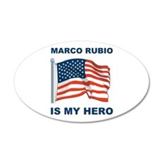 marco rubio is my hero.png Wall Decal