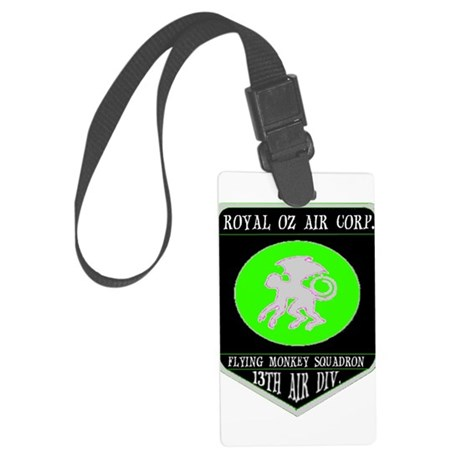 royal oz air corp Large Luggage Tag