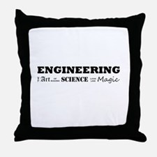 Engineering Definition Throw Pillow