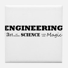 Engineering Definition Tile Coaster
