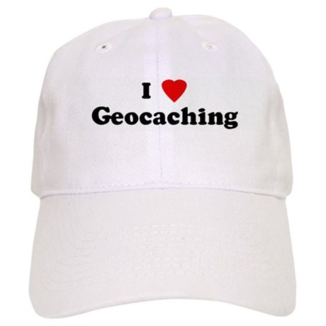 I Love Geocaching Cap