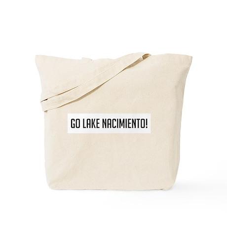 Go Lake Nacimiento Tote Bag