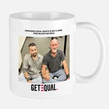 Major and Beau Mug