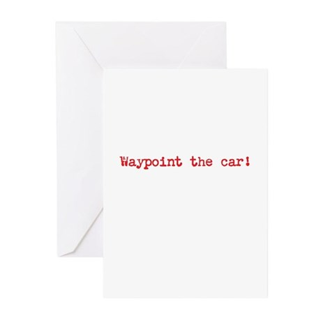 Waypoint the car Greeting Cards (Pk of 10)