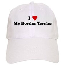 I Love My Border Terrier Baseball Cap