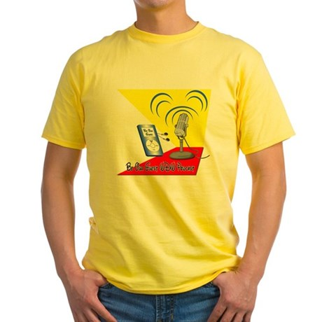 Be Our Guest WDW Podcast Logo Yellow T-Shirt