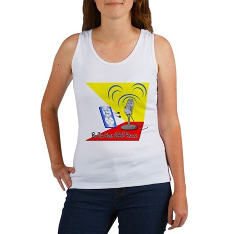Be Our Guest WDW Podcast Logo Women's Tank Top