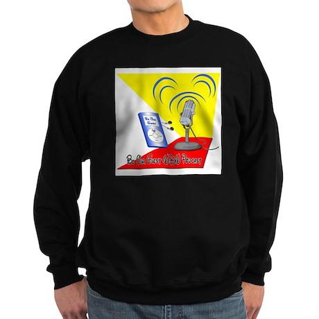 Be Our Guest WDW Podcast Logo Sweatshirt (dark)
