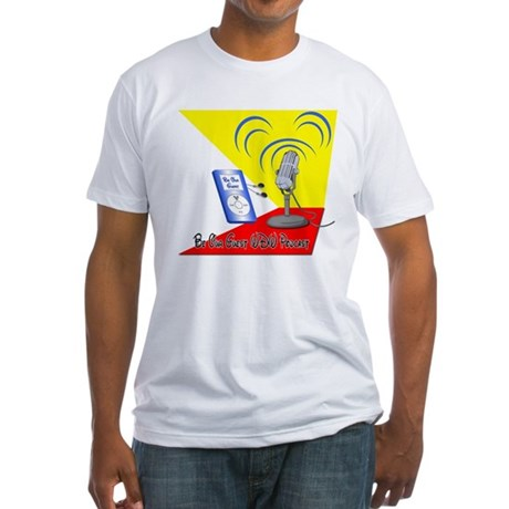 Be Our Guest WDW Podcast Logo Fitted T-Shirt