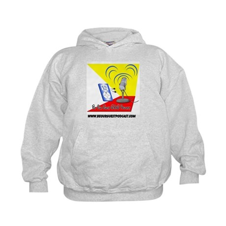 Be Our Guest Podcast Logo Kids Hoodie