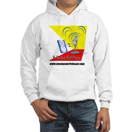 Be Our Guest Podcast Logo Hooded Sweatshirt