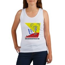 Be Our Guest Podcast Logo Women's Tank Top
