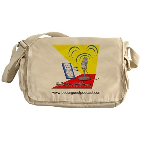 Be Our Guest Podcast Logo Messenger Bag
