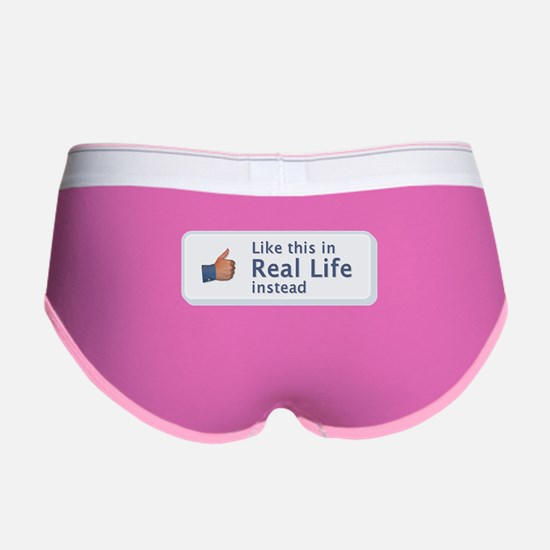 Like in Real Life Women's Boy Brief