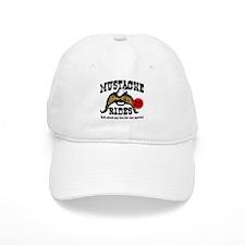 Mustache Rides Baseball Cap