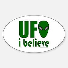 UFO I BELIEVE Decal