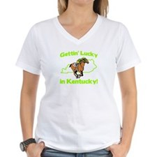 Gettin Lucky in Kentucky Shirt
