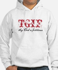 God is fictitious Hoodie