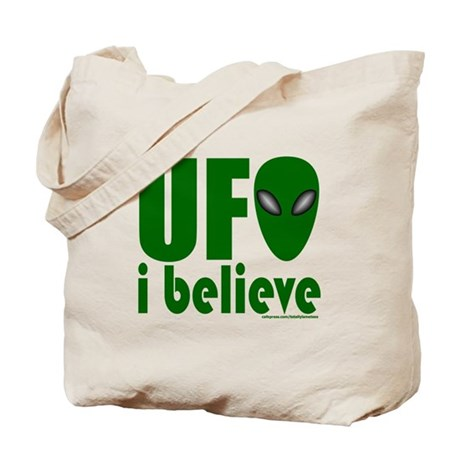 UFO I BELIEVE Tote Bag