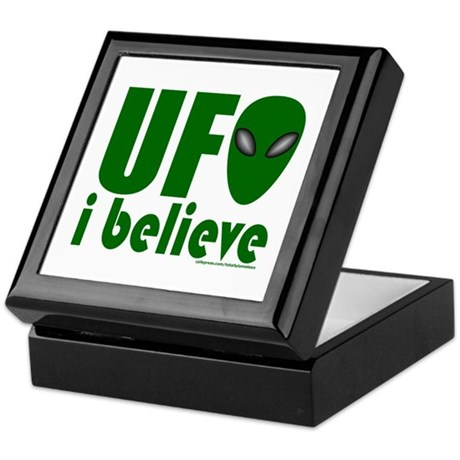 UFO I BELIEVE Keepsake Box