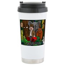 Nature Abhors This Cartoon Travel Mug