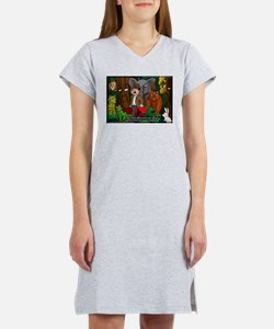 Nature Abhors This Cartoon Women's Nightshirt