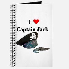 I Heart Captain Jack Journal