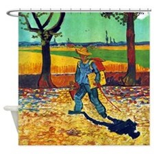 Van Gogh Painter On The Road Shower Curtain