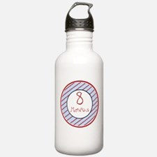 Nautical Stars 8 Months Water Bottle