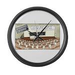 Sperm 101 Large Wall Clock