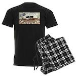 Sperm 101 Men's Dark Pajamas
