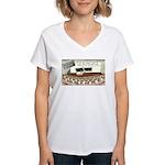 Sperm 101 Women's V-Neck T-Shirt