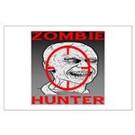 Zombie Hunter Large Poster