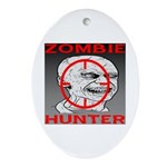 Zombie Hunter Ornament (Oval)