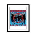 Zombie Hunter Framed Panel Print