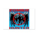 Zombie Hunter Mini Poster Print