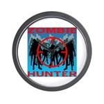 Zombie Hunter Wall Clock