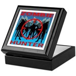 Zombie Hunter Keepsake Box