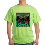 Zombie Hunter Green T-Shirt