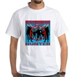 Zombie Hunter White T-Shirt