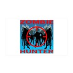 Zombie Hunter 35x21 Wall Decal